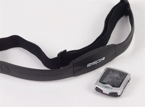 Image of RSP HRM-22 Wireless Cycling Computer with Heart Rate Monitor