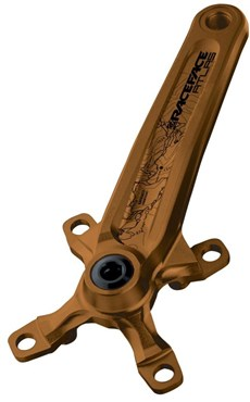 Image of Race Face Atlas Kash Money Gold Cranks and BB