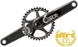 Image of Race Face SIXC Cinch Carbon Direct Mount Chainset