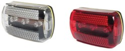 Image of Raleigh 3 LED Front and Rear Light Set