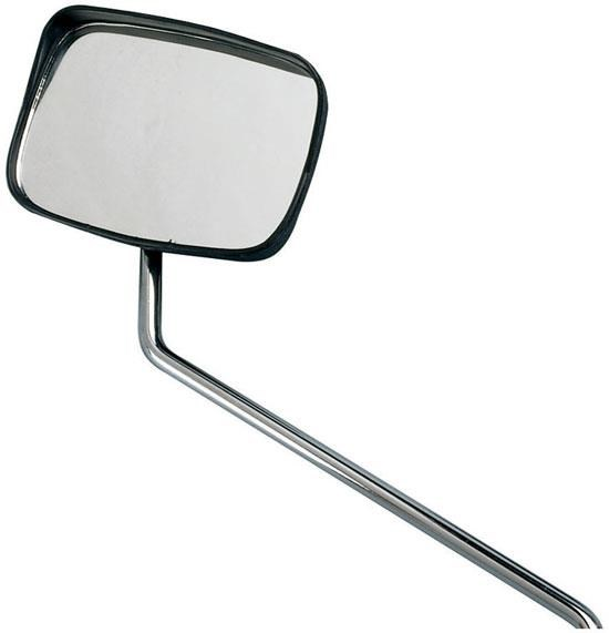 Raleigh Oblong Mirror with Rain Shield