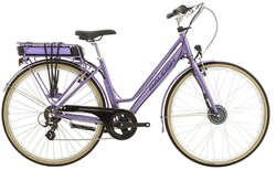 "Image of Raleigh Pioneer E Low Step 26"" Womens 2017 Electric Hybrid Bike"