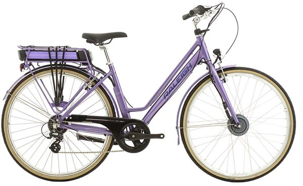 Image of Raleigh Pioneer E Low Step 700c Womens 2016 Electric Bike