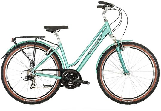 Image of Raleigh Pioneer Trail Womens 2016 Hybrid Bike