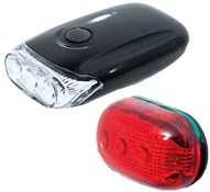 Image of Raleigh RX9.0S 3 Led Front & 5 Led Rear Light Set