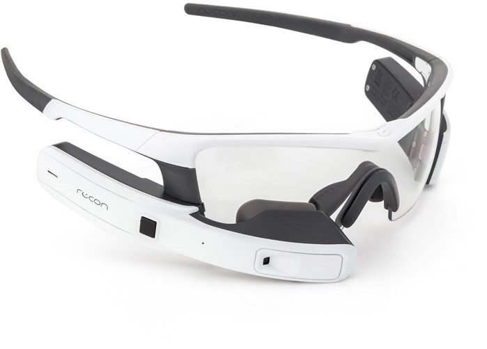 Recon Instruments Jet White - Heads Up Display Smart Eyewear