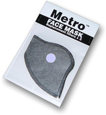 Image of Respro Metro Anti-Pollution Mask Filter - Pack of 2