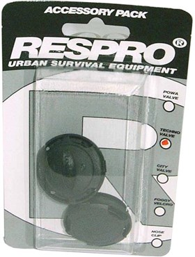 Image of Respro Techno / City Anti-Pollution Mask Valves - Pack of 2