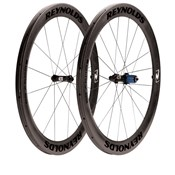 Image of Reynolds 58 Aero Tubular Road Wheelset