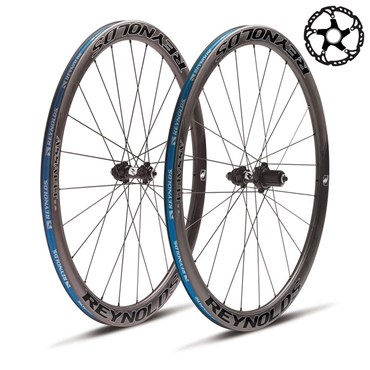 Image of Reynolds Assault SLG Clincher Tubeless Disc Road Wheels