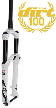 "Image of RockShox Pike RCT3 - 26"" MaxleLite15 - Dual Position Air 160 - Crown Adj - Disc 2016 - White"
