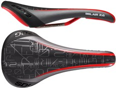 Image of SDG Bel Air 2.0 Solid Ti-Rail Saddle