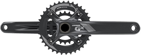 Image of SRAM Crank GX 1000 BB30 - 2x10 -  All Mountain Guard 38-24 - (Bearings Not Included)