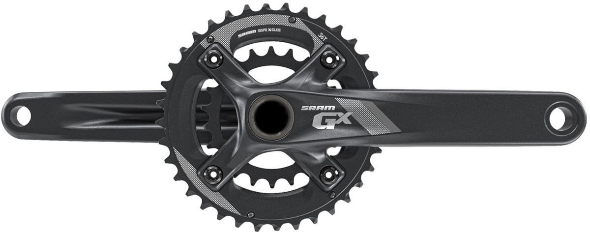 SRAM Crank GX 1000 BB30 - 2x10 -  All Mountain Guard 38-24 - (Bearings Not Included)