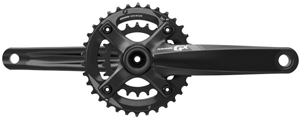 Image of SRAM Crank GX 1000 Fat Bike GXP - 100mm Spindle 2x10 - 34-22 - (GXP Cups Not Included)