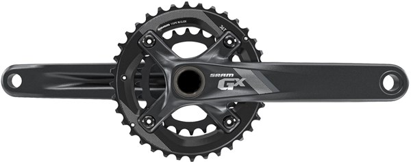 Image of SRAM Crank GX 1000 Fat Bike GXP - 100mm Spindle 2x11 - 36-24 - (GXP Cups Not Included)