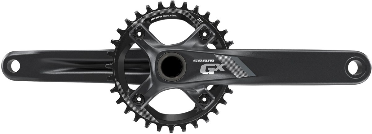 SRAM Crank GX 1000 GXP - 1x11 175mm - Boost148 - 32T X-Sync Chainring (GXP Cups Not Included)