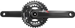 Image of SRAM Crank GX 1400 GXP 2x11 175 Red 36-24 (GXP Cups Not Included)