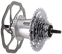 Image of SRAM DualDrive3 Hub Disc Brake 135OLD with Spoke Protector