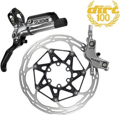 Image of SRAM Guide Ultimate Front Disc Brake - Ti Hardware (Rotor/Mount Sold Separately)