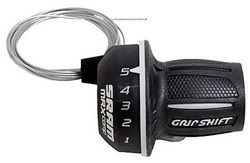 Image of SRAM MRX Twist Shifter - 7 SpeedRear 2:1 fits Shimano