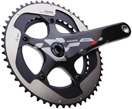 Image of SRAM RED 10 Speed Exogram GXP Crank Set - GXP Cups NOT included