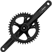 Image of SRAM S350-1 11 Speed Road Chainset - BB30 or GXP - (Cups & Bearings Not Included)