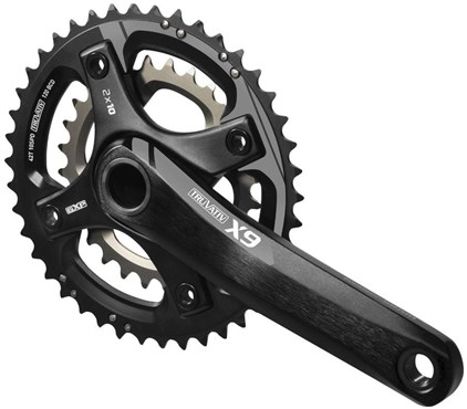 Image of SRAM X-9 GXP 2.2 10sp Crank (GXP Cups Not Included)