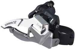 Image of SRAM X7 Front Derailleur - 2x10 High Clamp Compact