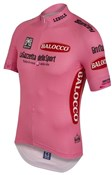 Image of Santini Giro D Italia 2015 Leaders Short Sleeve Cycling Jersey
