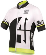 Image of Santini Interactive 2.0 Aero Short Sleeve Jersey