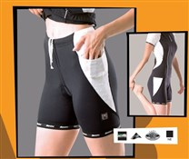 Image of Santini Labyrinth 3/4 Shorts