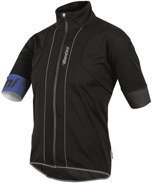 Image of Santini Reef Water and Wind Resistant Short Sleeve Jersey