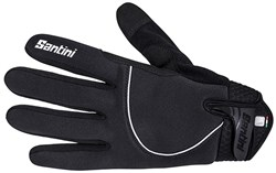 Image of Santini Studio Airtech Thermal Long Finger Gloves AW17