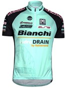Image of Santini TX Active Bianchi 15 Short Sleeve Cycling Jersey