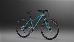 Image of Saracen Urban Cross 1 Womens 2017 Hybrid Bike