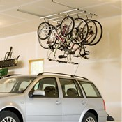 Image of Saris Parking Cycle Glide Ceiling Mount Storage Rack - 4 Bikes