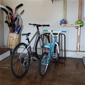 Image of Saris Parking Mini Mite 4 Bike Storage Rack - 4 Bikes