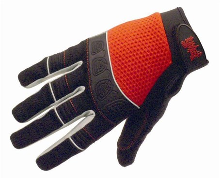 Image of Savage Gravity BMX Long Finger Cycling Gloves