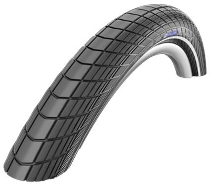 Image of Schwalbe Big Apple LiteSkin Reflex Wired Tyre With Reflective Sidewalls