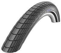 "Image of Schwalbe Big Apple Plus Reflective 28"" Performance Wired Balloonbike Reflex Tyre"