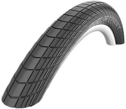 "Schwalbe Big Street SnakeSkin Dual Compound Performance Folding 20"" BMX Tyre"