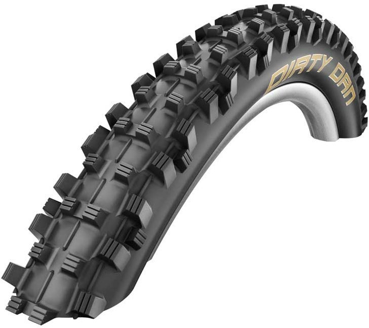 "Schwalbe Dirty Dan VertStar 27.5"" / 650B Downhill Off Road MTB Folding  Tyre"