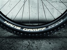 "Image of Schwalbe Hans Dampf Super Gravity Tubeless Easy TrailStar Evo Folding 26"" Off Road MTB Tyre"