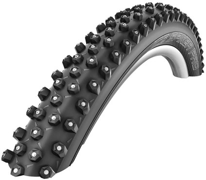 "Image of Schwalbe Ice Spiker Pro LiteSkin Winter Folding 26"" MTB Tyre"