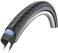 Image of Schwalbe Marathon Plus SmartGuard E-25 Black n Roll Compound Evo Wired Tyre
