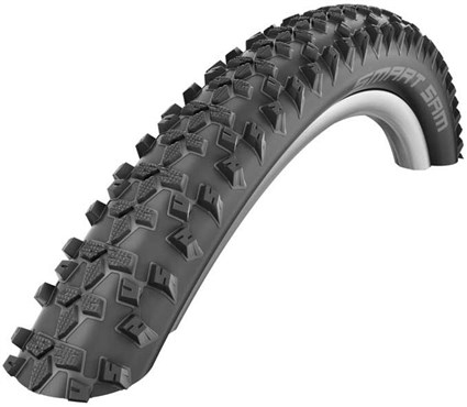 "Image of Schwalbe Smart Sam Reflex 26"" MTB Off Road Tyre with Reflective Sidewalls"