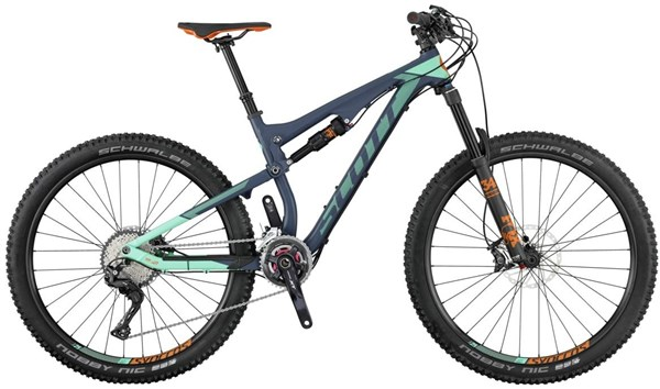 Image of Scott Contessa Genius 710 27.5 Womens 2017 Mountain Bike