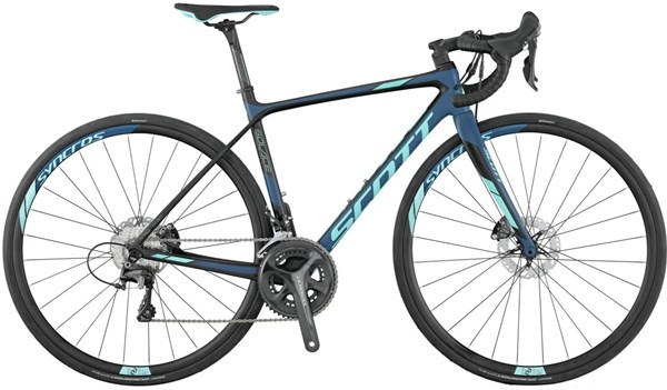 Image of Scott Contessa Solace 15 Disc Womens 2017 Road Bike