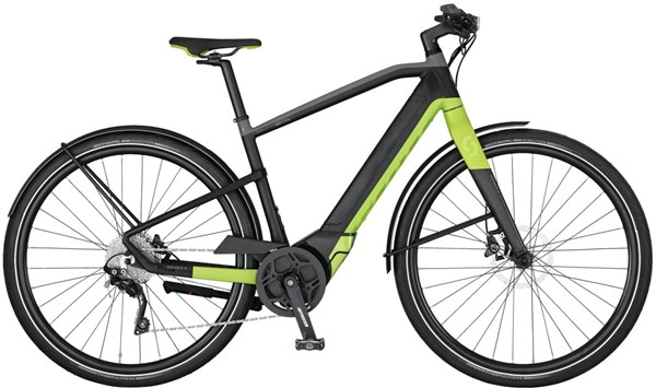 Image of Scott E-Silence Speed 20 2017 Electric Bike